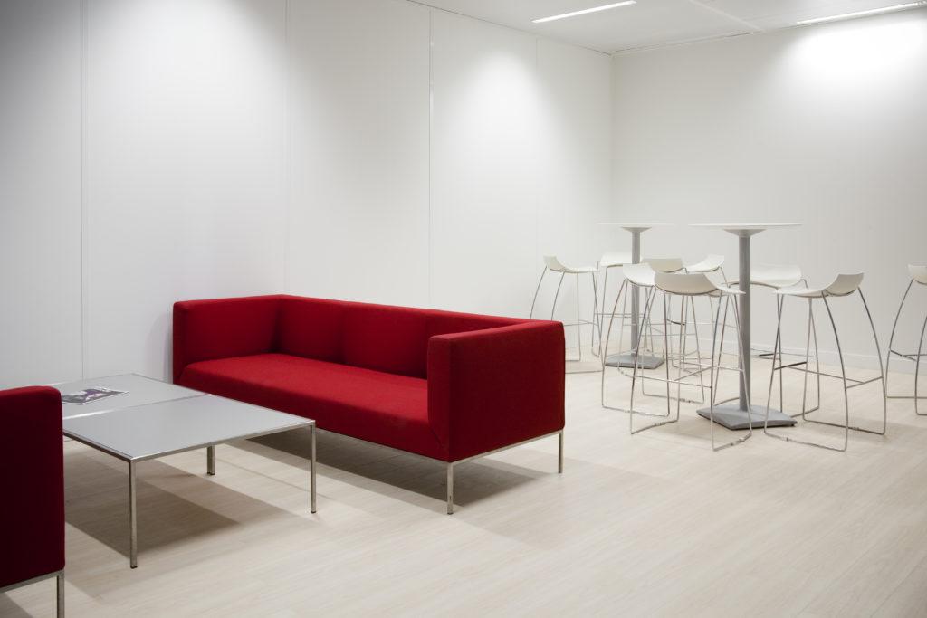 Aménagement d'un espace de détente, restauration, cafétéria - Réalisation ALTRAN - Vélizy
