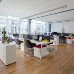 Moore  aménage les bureaux de See Concept. Photo : Fabrice Dunou