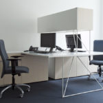 Espace de travail avec bureau et rangement Air Narbutas