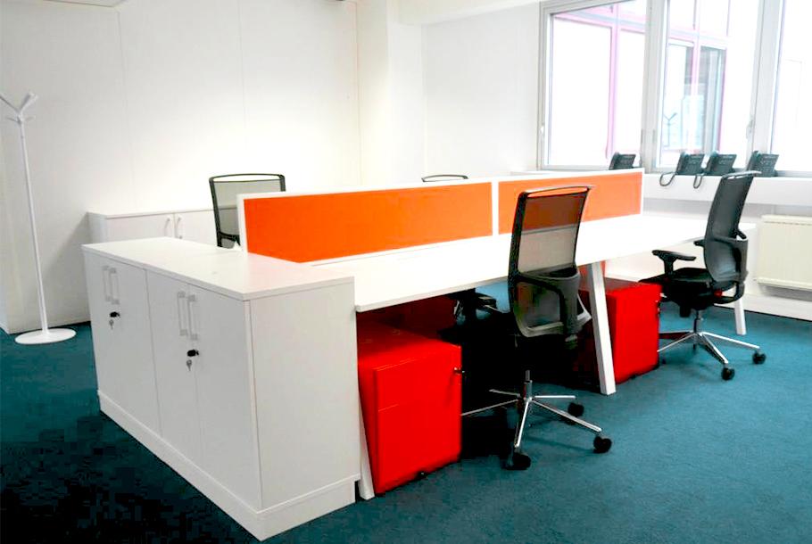 Aménagement d'espace de travail en open space - Réalisation AKER SOLUTIONS - Fontenay sous bois