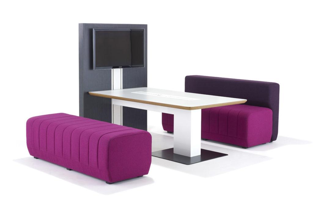 Espace multimedia avec table connectée Together Allermuir