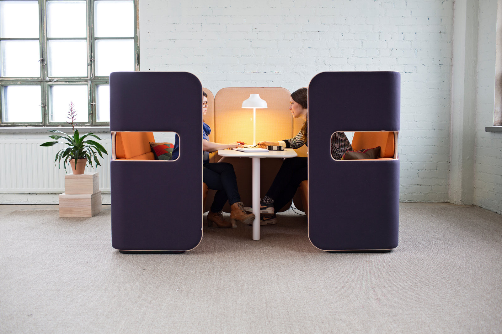Alcove acoustique Pod Meeting Martela