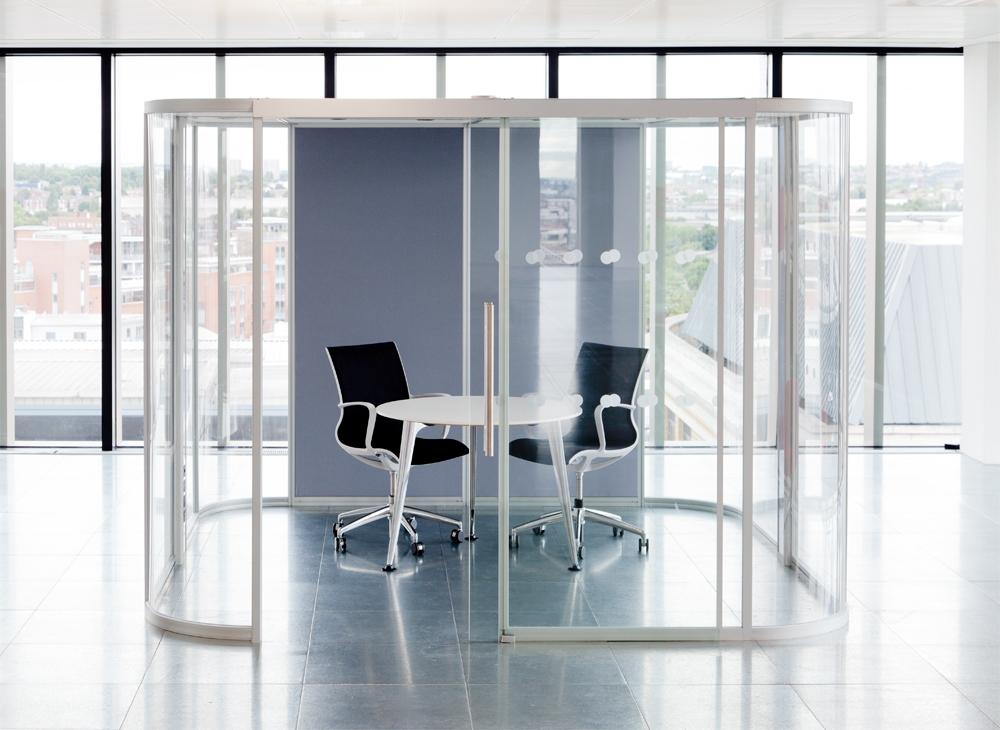 Espace de réunion acoustique Unifi Vista Boss design