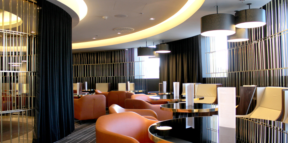 Aménagement design hôtel Pullman Brussel Midi