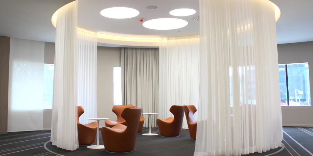 Aménagement hôtel Pullman Brussel Midi