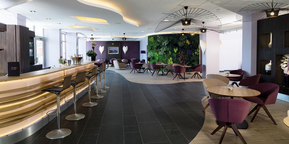 Aménagement design hôtel thalazur baie des Anges Antibes