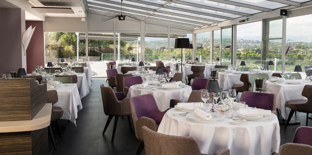 Aménagement restaurant hôtel thalazur baie des Anges Antibes