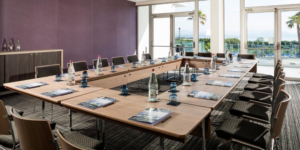 Aménagement réunion hôtel thalazur baie des Anges Antibes