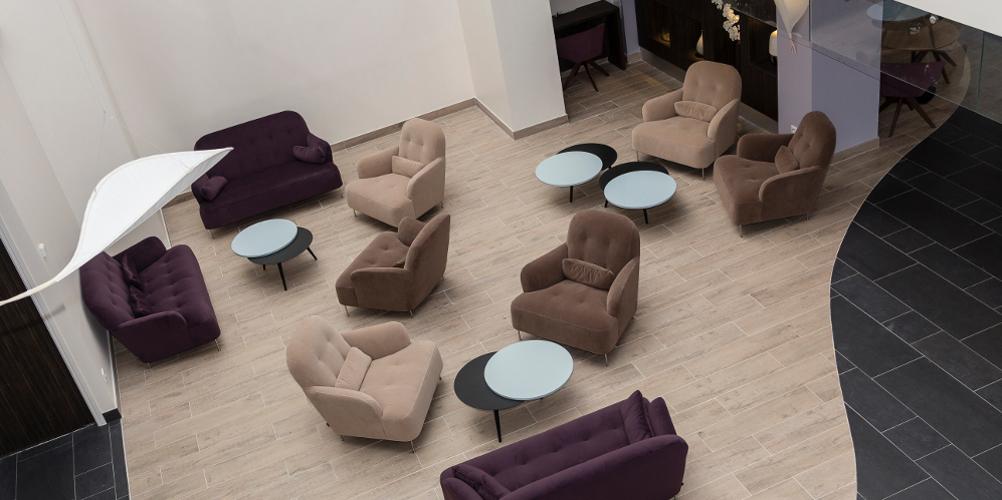 Aménagement espace détente hôtel thalazur baie des Anges Antibes