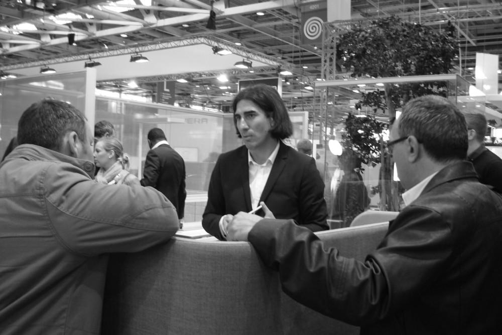 Interview Julien Diard sur Bureaux Expo 2014