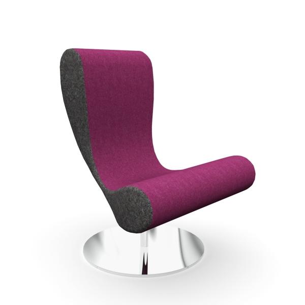 Fauteuil lounge design SKYBAR Martela