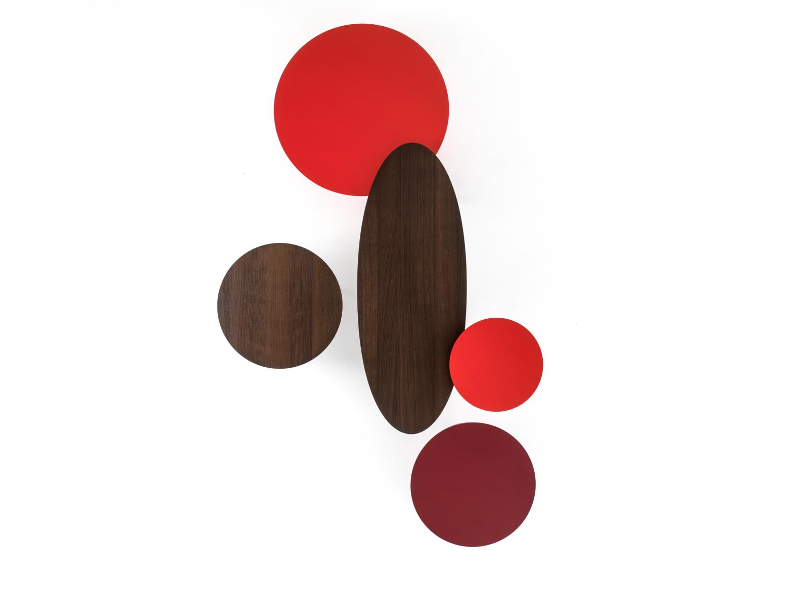 Gamme de table basse Ademar Coffee - Plateau en bois teinté ou laqué