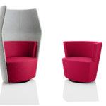 Fauteuill dossier haut Peek and Boo Boss Design