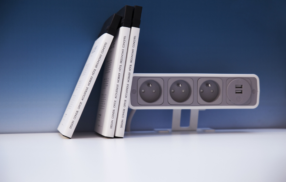 Bloc prise design OE Electric