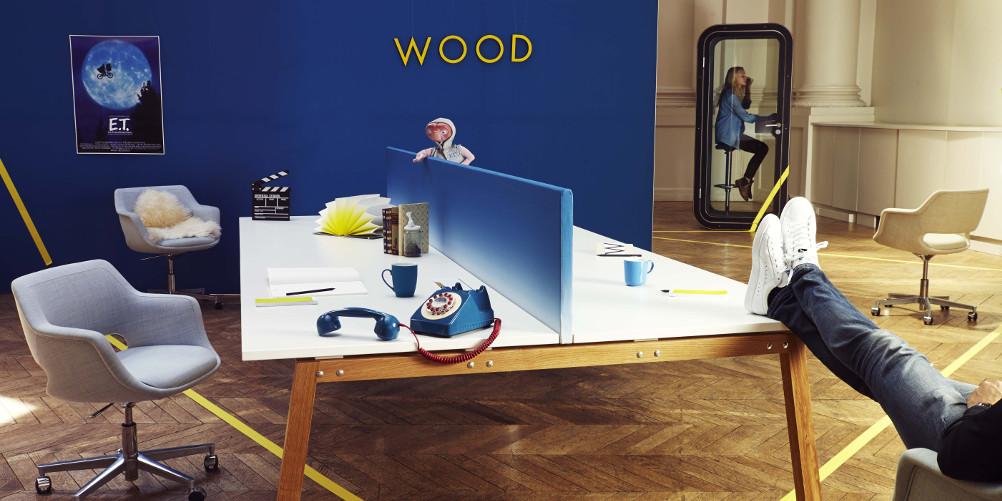 Bench en bois Wood by Moore