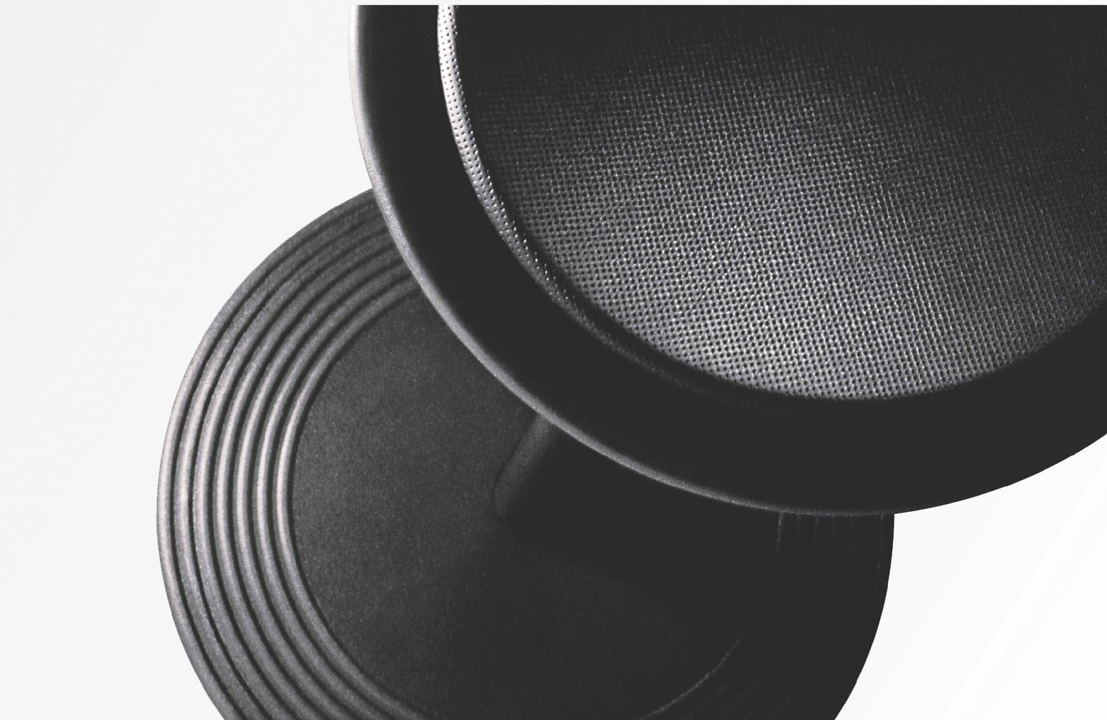 Détail sur assise en cuir tabouret Stitz Martela