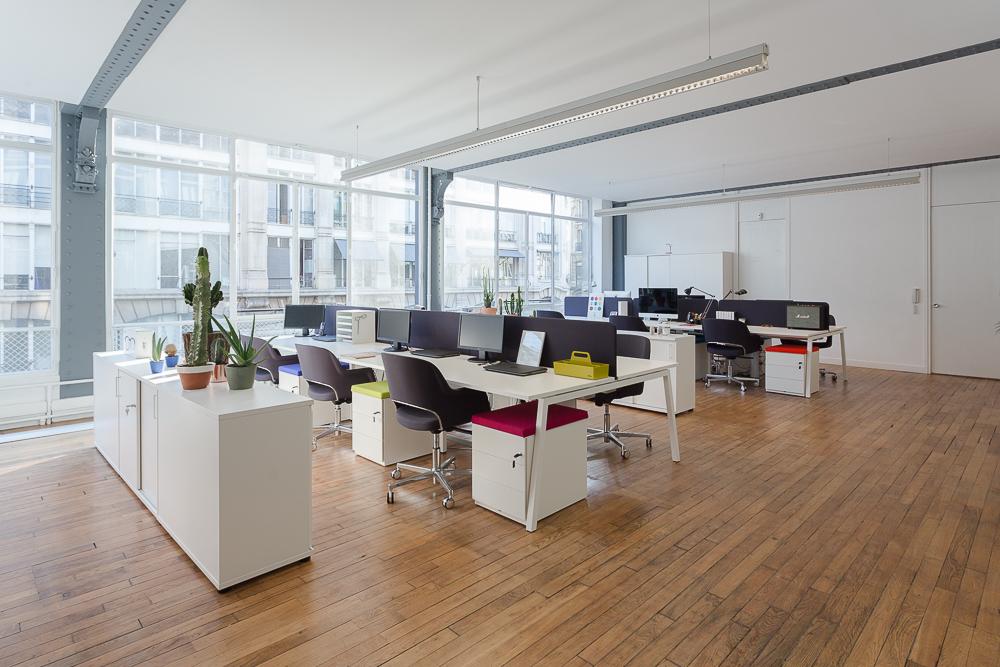 Bureaux en open space - Réalisation IZIPIZI - Paris