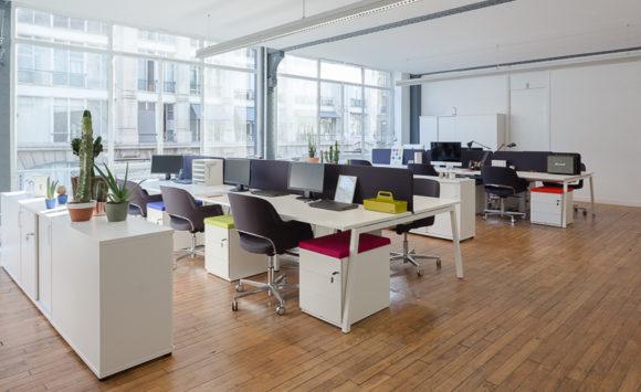 IZIPIZI - Aménagement open space, espace lounge, salle de réunion