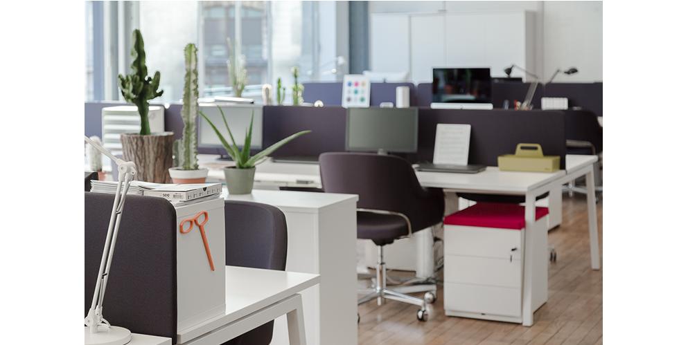 open space, mobilier design pour petite entreprise - See Concept, Paris