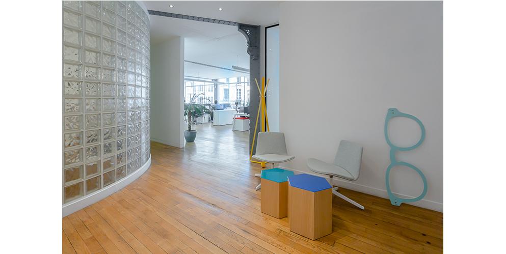 espace d'attente, aménagement start-up - See Concept, Paris