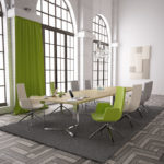 PLANA table de réunion vert