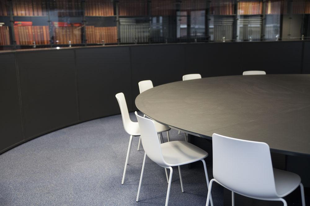 Aménagement d'un grand espace de réunion, brainstorming - Réalisation LIBERATION - Paris 9