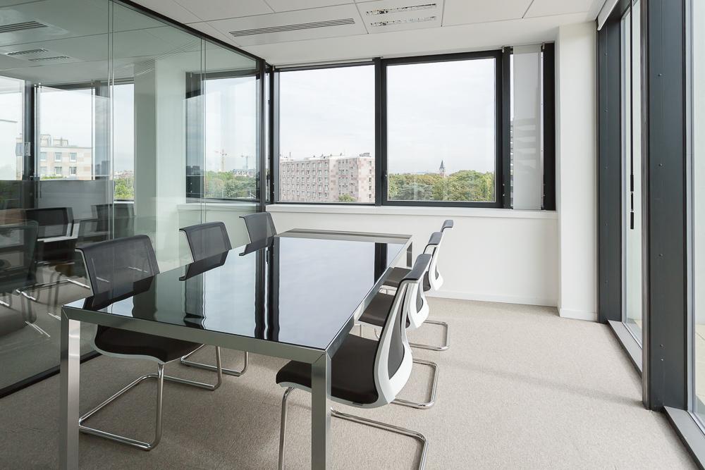 Aménagement d'une salle de réunion - Réalisation TNS - Paris
