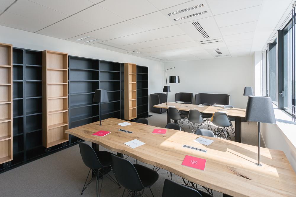 Aménagement de bureaux collaboratifs - Réalisation TNS - Paris