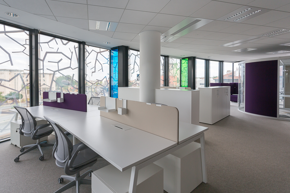 Am nagement design bureaux open space salles de r union - Amenagement bureau open space ...