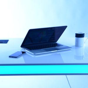 table air bleu
