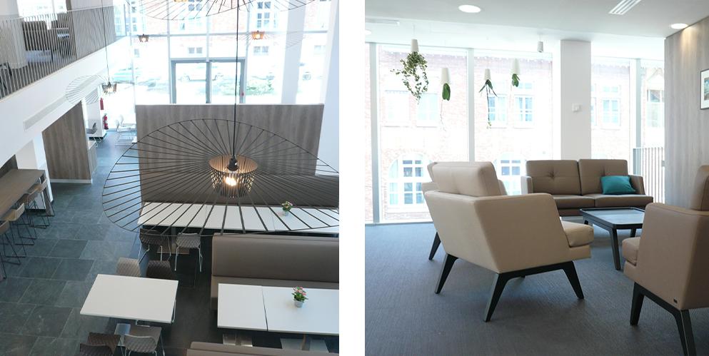 aménagement restaurant d'entreprises, mobilier RIE - Saegus, Neuilly sur Seine