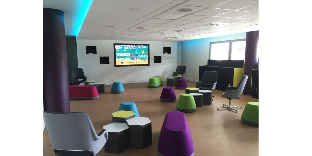 Espace modulaire, mobilier modulable - Canal +, région parisienne