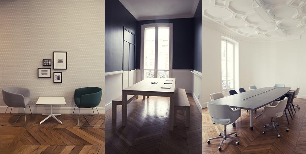 espace de réunion, espace de détente - Saegus, Paris