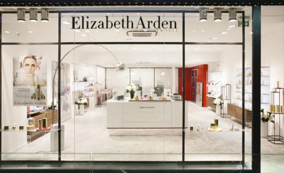 Aménagement retail - Elizabeth Arden, Paris