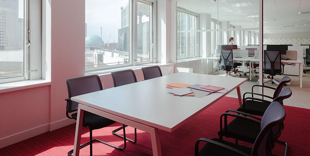 salle de réunion, solution acoustique, aménagement grande entreprise - PWC, La Défense