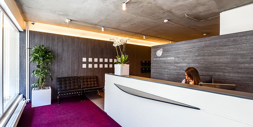 mobilier accueil, mobilier de bureau, esprit loft new-yorkais - Saegus, Paris