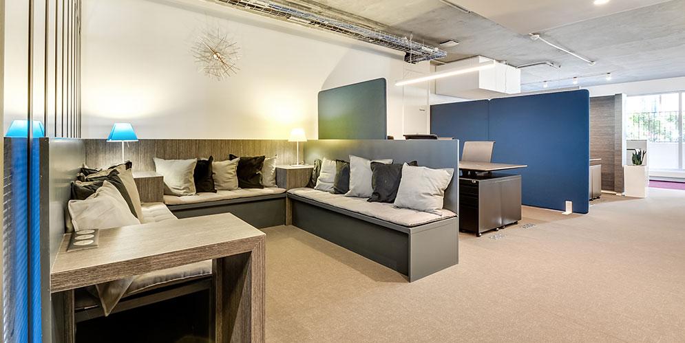 salle de réunion, mobilier de bureau, esprit loft new-yorkais - Saegus, Paris
