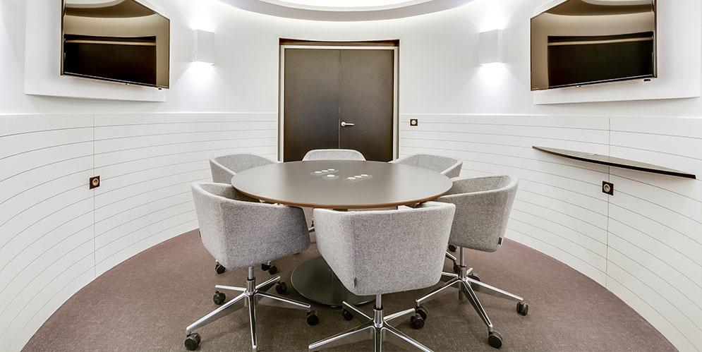 salle de réunion, solution acoustique - Saegus, Paris