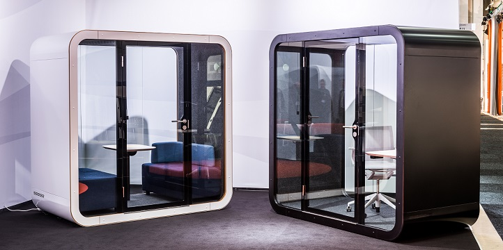 Isolation acoustique - cabine double framery