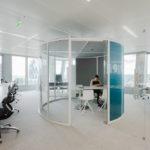 Bulle circulaire Qube 360 Moore Deloitte