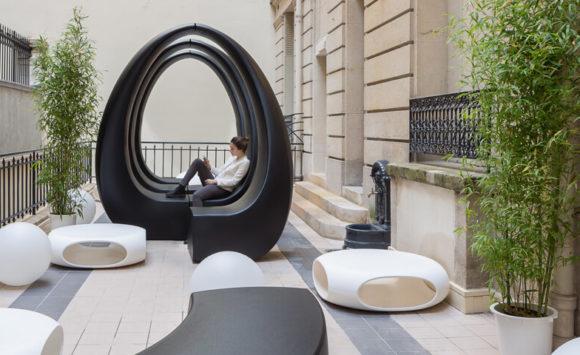 SWISS LIFE - Aménagement open space, bureau de direction, cafétéria salle de réunion