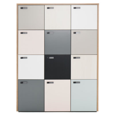CASIERS MODULABLES THE WALL - MARTELA