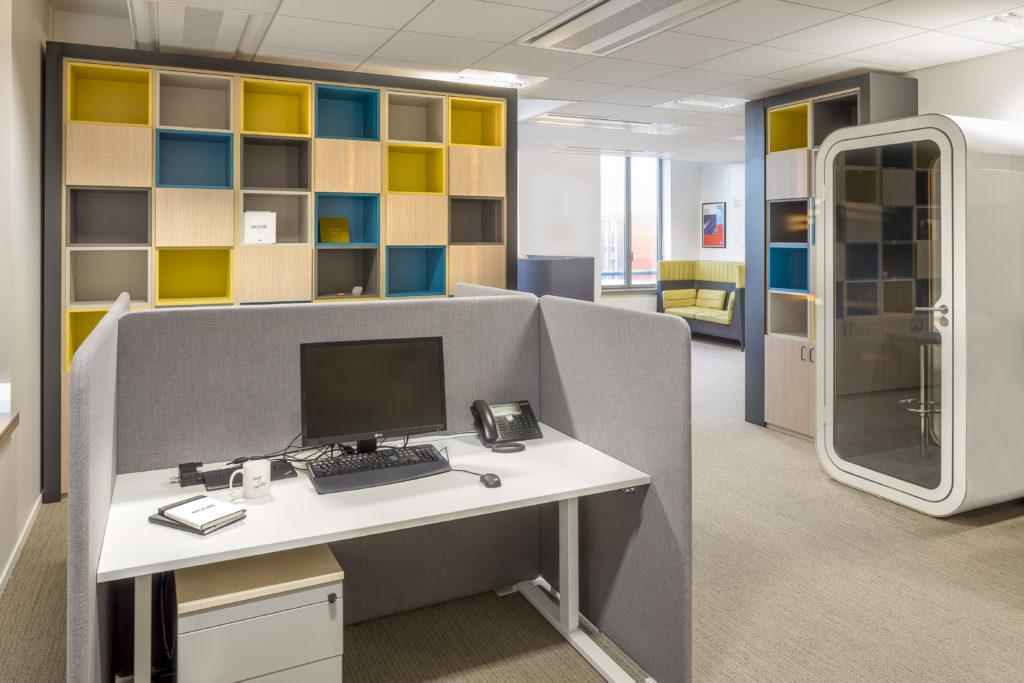 Aménagement de bureaux ouverts - Réalisation SGP - Saint Denis