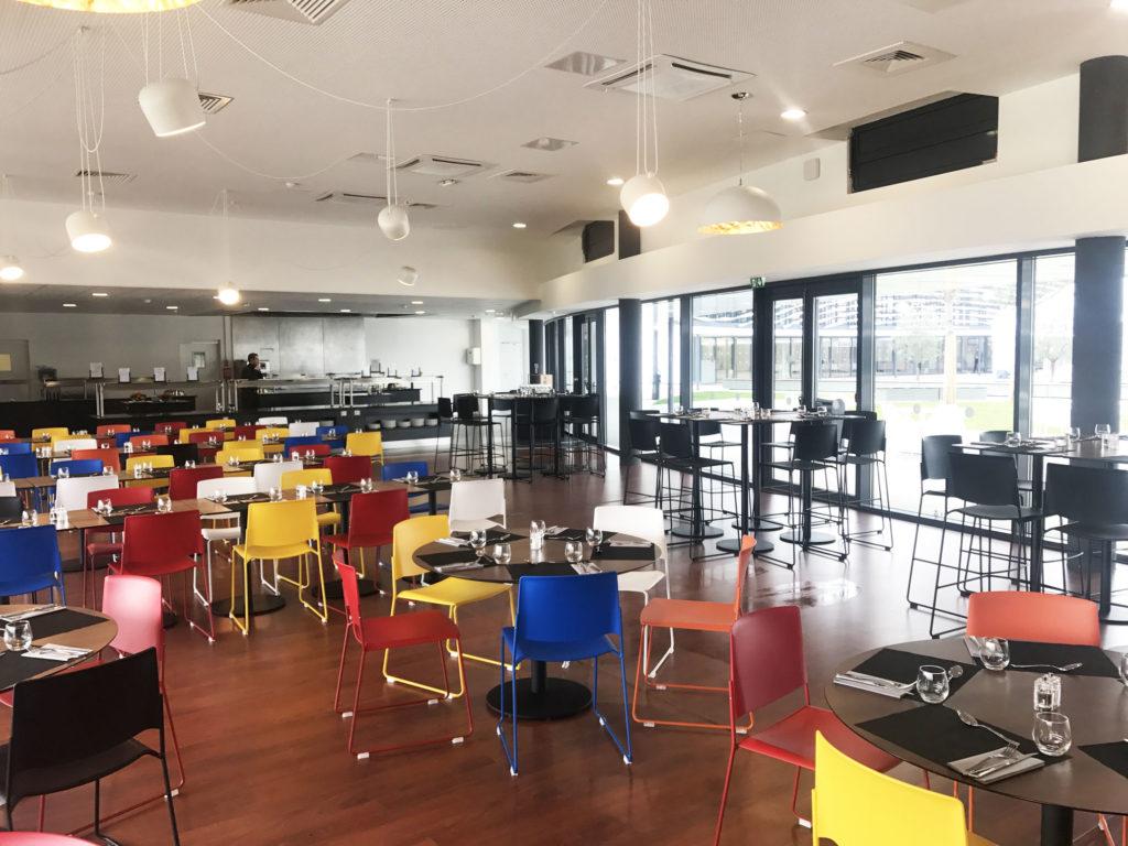 Aménagement d'un espace de restauration - Réalisation AIRBUS - Toulouse