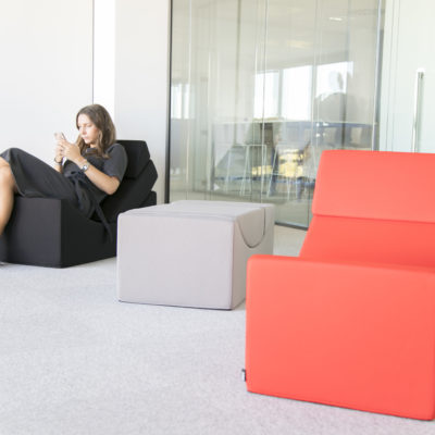 ASSISE LOUNGE MODULAIRE MOON - LINA