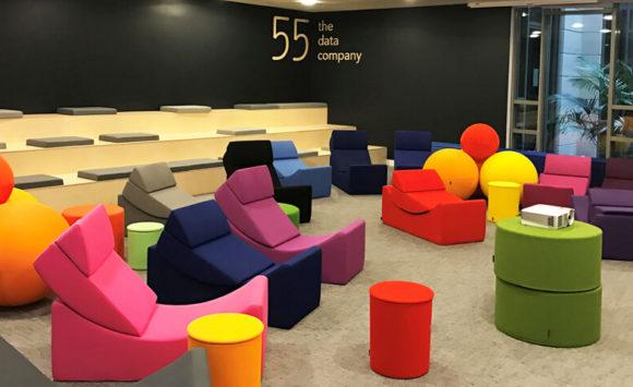 55 - Réaménagement des espaces collaboratifs, espaces cafétéria, salles de réunion