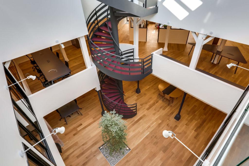 Aménagement de bureaux design - Réalisation OCP BUSINESS CENTER - Paris 20