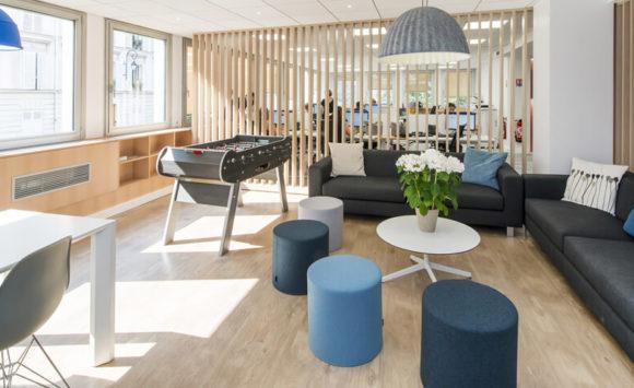 EBIQUITY - Aménagement de bureaux en flex office