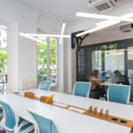 Bench Wood by Moore, Worldchair Humanscale, Framery Q – L'APPARTEMENT MOORE