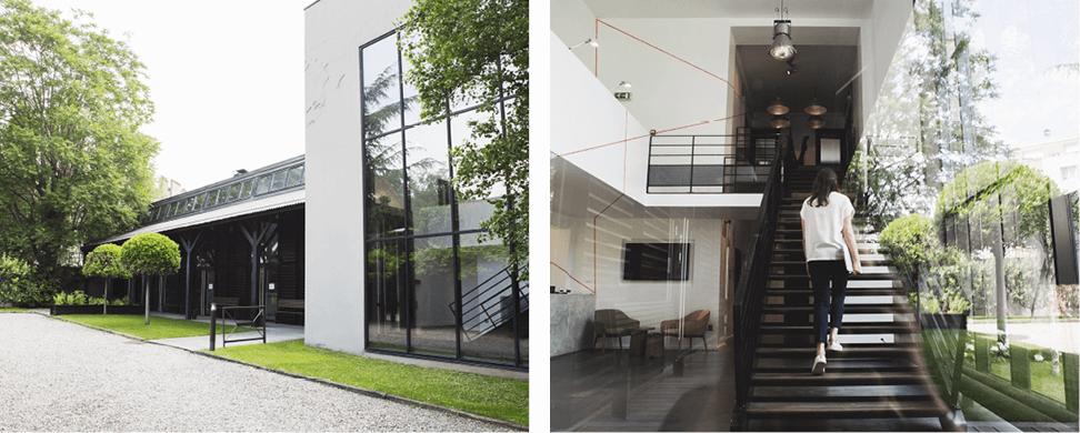 Aménagement d'espaces professionnels, esprit industriel - L'ATELIER, Saint Ouen